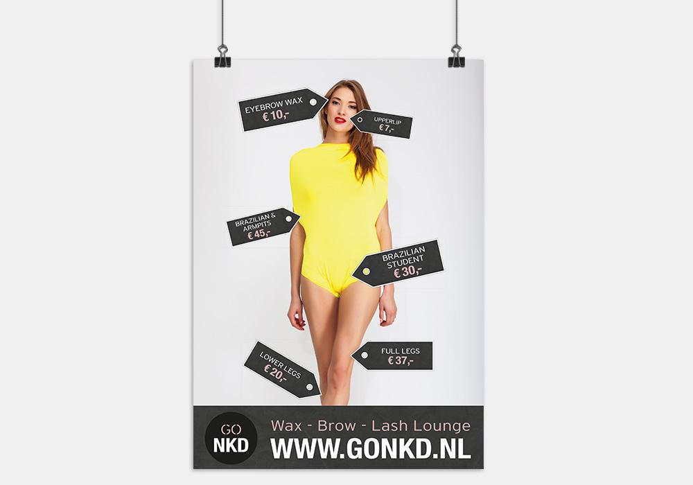 Go NKD promotioneel drukwerk