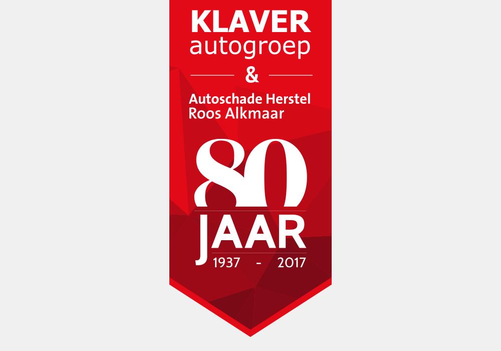 jubileum logo klaver autogroep